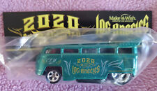 2020 Hot Wheels LA Convention Charity Bingo Winner VW T1 Drag Bus In Hand