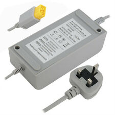 New Power Brick Supply Cable Wall Plug Charger Adapter Nintendo Wii U Console