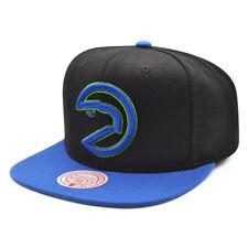 Atlanta Hawks Mitchell & Ness RELOAD Snapback HWC Hat= Black/Royal/Lime Bottom