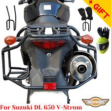 For Suzuki DL 650 V-Strom rack luggage system side carrier Vstrom 650, Bonus