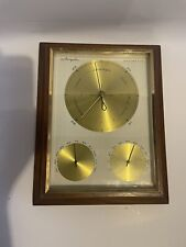 New listing Vintage Mid Century Modern Airguide Barometer Thermometer. and humidity Gauge