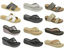 Dunlop Wedge Synthetic Sandals & Beach Shoes for Women