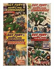 Marvel Sgt. Fury And His Howling Commandos Lot Issues #31,32,35,53