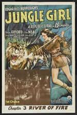 Jungle Girl - Classic Movie Cliffhanger Serial DVD Frances Gifford Tom Neal