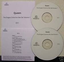 Queen Singles Collection Box Set Vol.1 CD Acetates Set
