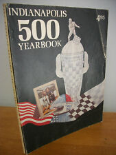 1976 INDIANAPOLIS 500 YEARBOOK, Rutherford Cover