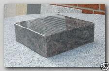 Grabsockel, Lampensockel, Granit, Himalaya Blue, 20x20x6cm, NEU!!!
