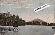 c. 1908 CUMBERLAND, MD, POTOMAC CLUB POSTCARD #2