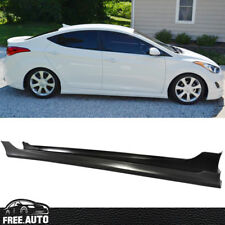 Fit for 11-13 Hyundai Elantra Durable Side Skirt PP Material OE-Style Sedan Only