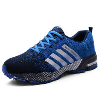 Men's Fashion Leisure Lace Up Running Breathable Shoes Sports Athletic Sneakers