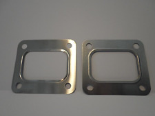 2 pack Garrett T4 Turbo Inlet Flange Gasket 4 Bolt 304 stainless steel