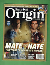 #NN3.  RUGBY LEAGUE STATE OF ORIGIN  MAGAZINE  21/5  2008
