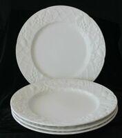 Set of 4 Mikasa English Countryside White DP900 Dinner Plates