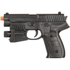 UK Arms Airsoft Spring Powered Laser Pistol w/ Strobe 216AF