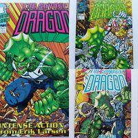 The Savage Dragon #1,2,3. Image Comics 1992 First Printing & Trading Card