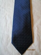 Jos A Bank Blue Silk Neck Tie