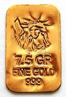 GOLD APPROX 1/2 GRAM (24K PURE GOLD BULLION BAR 999 FINE PURE GOLD g20