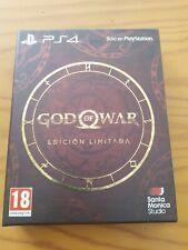 God of War Edición Limitada PS4 - Limited Edition Steelbook