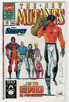 New Mutants #99 (1991) [1st Appearance Shatterstar & Feral] Signed by Liefeld X
