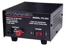 Pyramid PS3KX 2.5 Amp Power Supply