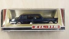 Zil 115 Nero Limousine Metal Model 1/43 URSS Rare Vintage Model Car