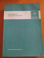 Workshop Manual Mercedes Diesel Engines OM 615 - 616 - 617.91 - Englisch