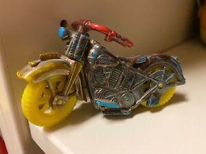 Vintage Harley Davidson Police Motorcycle Toy
