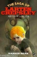 NEW   BIRTH OF A KILLER - DARREN SHAN paperback Saga of Larten Crepsley