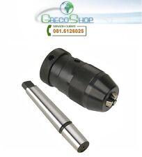 Mandrino autoserrante/Tornio/Trapano a col. 3-16mm  B18 + adattatore MT2-B18