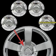 "4 New 03-07 Silverado 20"" CHROME Wheel Center Hub Caps Hubs 6 Lug Nut Rim Covers"