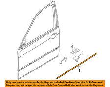 BMW OEM 01-06 325Ci EXTERIOR TRIM-DOOR-Body Side Molding Left 51130001034