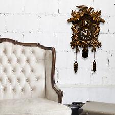Living Room Decoration Vintage Wall Clock Home Décor Cuckoo Clock Interior