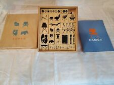 EAMES STAMP KIT - 20 rubber stamp designs 2003 Chronicle Books