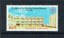 Pakistan 1987 The 125th Anniversary Of St Patricks School,Karachi - MUH