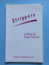Strippers A Play by Peter Terson