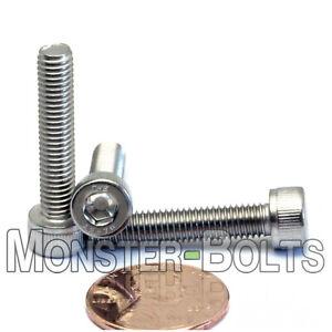 M5 x 25mm Stainless Steel Socket Head Cap Screws, DIN 912 A2 Coarse 0.80 Pitch