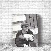 David Bowie Original Photo Canvas Print