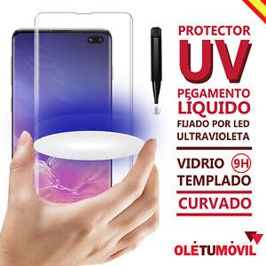 Protector de Pantalla UV Led Samsung Galaxy S10 / S10 Plus / S10E Oletumovil