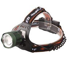 ZOOM 20000LM CREE XM-L T6 LED Tactical 18650 Headlight Headlamp Head Torch Light