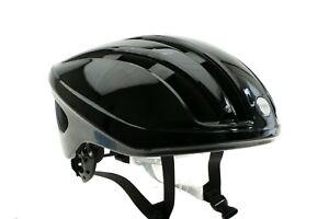 Brooks Harrier Helmet Large L 59cm-62cm Black Glossy Road Italy NEW in Box