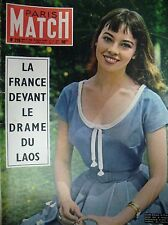 PARIS MATCH Cooper Rosselllini Hemingway Indochine Laos Cannes