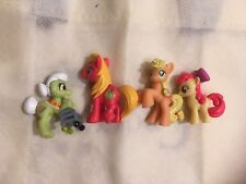 APPLE FAMILY SET MY LITTLE PONY GRANNY SMITH BIG MCINTOSH APPLEJACK Apple bloom