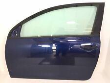 FRONT DOOR VW GOLF GTI 2 DOOR 10-14 LH DRIVER SHADOW BLUE LD5Q MK6 !DINGED!