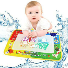 Kids Toys Water scrawl Mat Drawing Painting Magic Pen for Childrens Toddler Gift