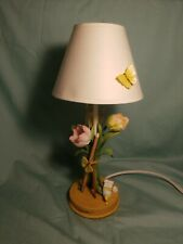 Marjolein Bastin Natures Tulip & Pencil Lamp, Butterflies, Lady Bug. Tested.