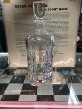 Orrefors Sven Palmqvist, 1960 crystal decanter Signed P A 2508 Label