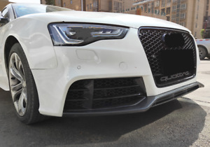 Audi A5/S5 (B8.5) S Line RS5 Style Gloss Black Honeycomb Front Grille