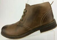 Bed Stu Ankle Boots Lace Up Brown Casual Comfort Leather Desert Chukka Mens 8.5
