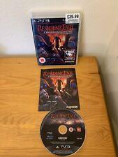 Resident EVIL: operación Raccoon City (Sony PlayStation 3, 2012) Disco Como Nuevo