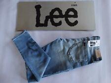 025 WOMENS EX-COND LEE SUPATUBE SUPER STRETCH BLUE STRETCH JEANS 11 $150 RRP.